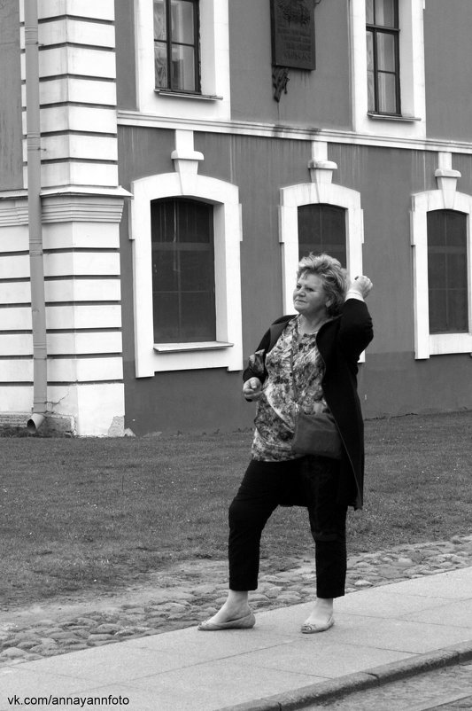 В Петропавловской крепости - Анна Янн