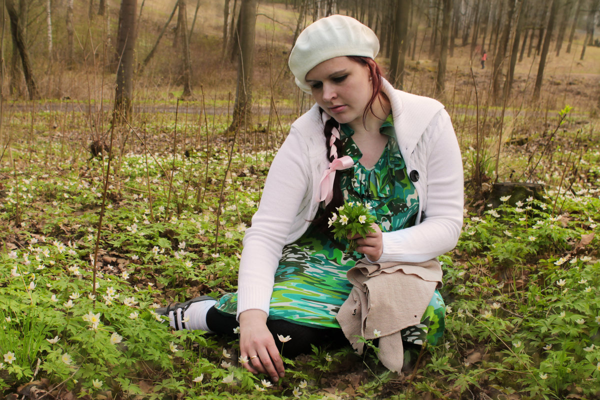 Девушка-весна - Людмила Волдыкова