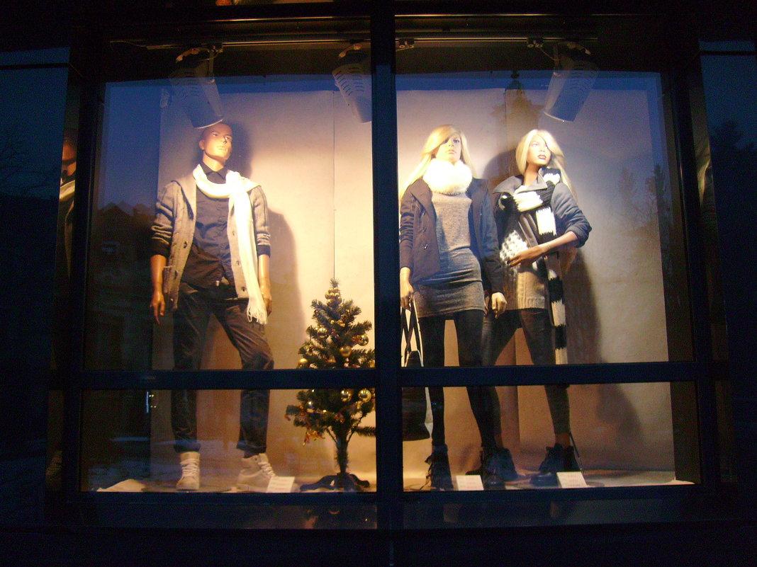 Стоят   в   витрине   манекены  ...... - Андрей  Васильевич Коляскин