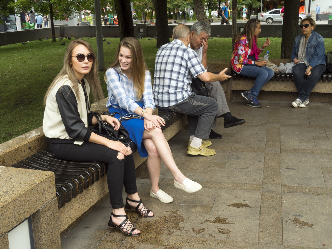 Москва. Посиделки, разговоры - Владимир Шибинский