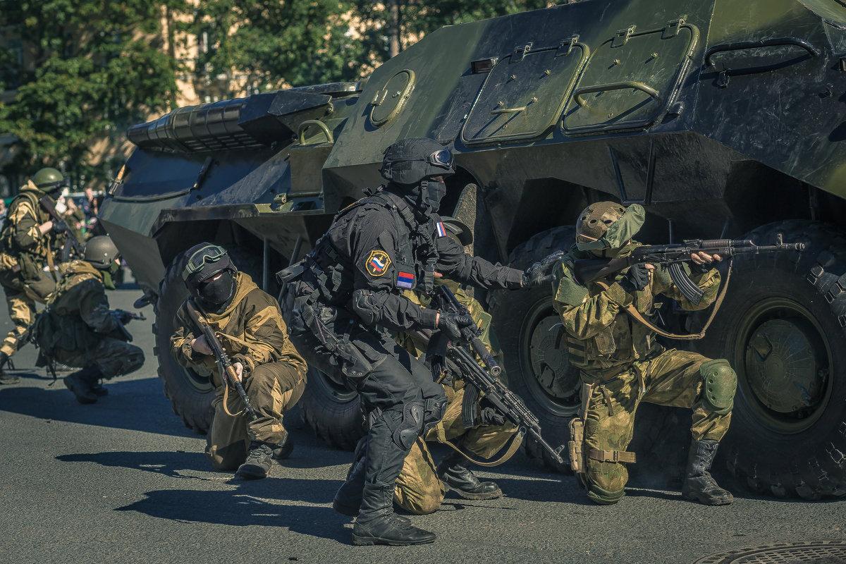 Режим К.Т.О. Российский спецназ - Виктор Седов
