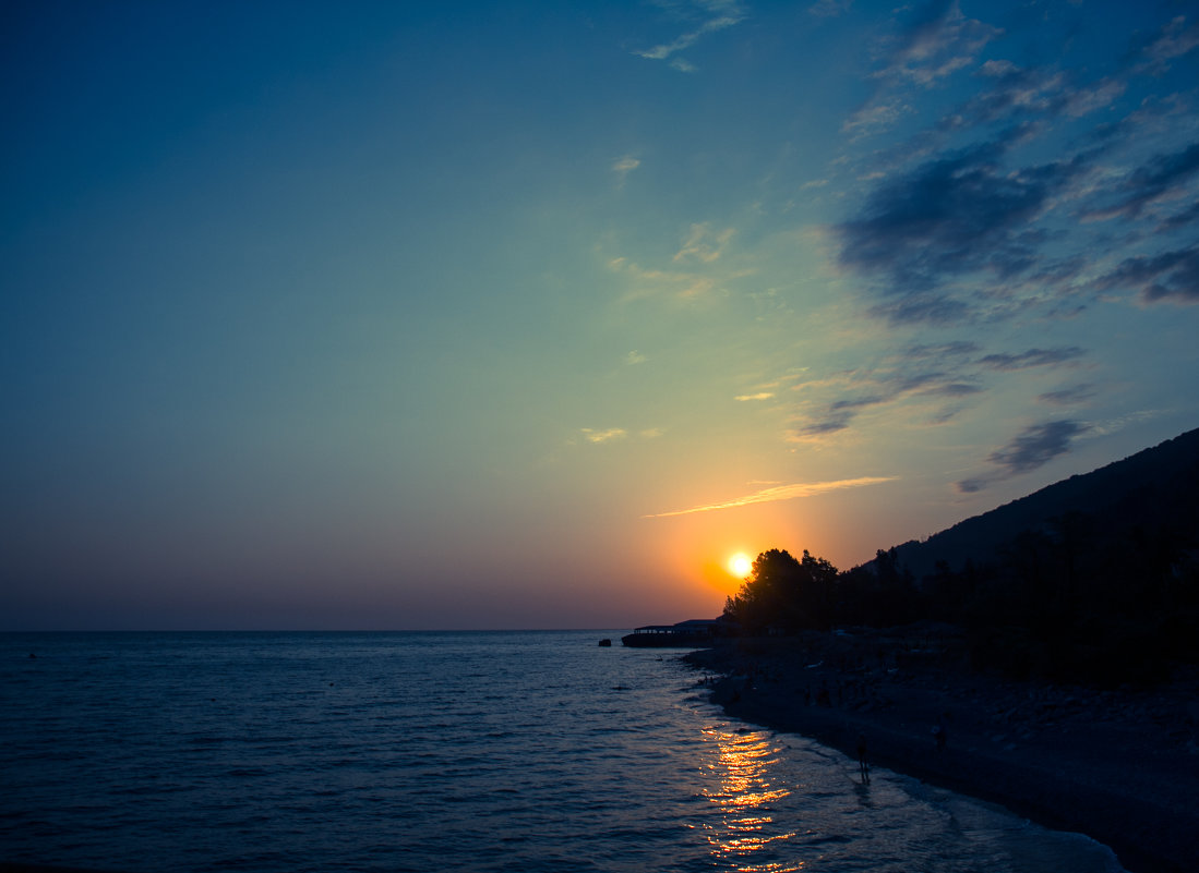 закат на море - AllaSaa