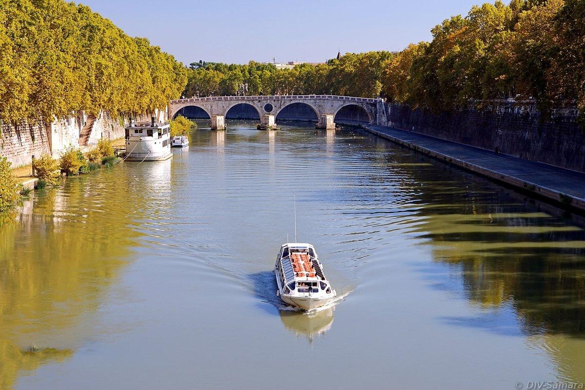 Река Тибр в Риме - Денис Кораблёв