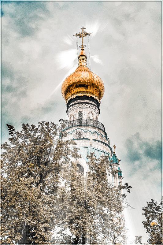 Колокольня Софийского собора. Вологда. - Олег Загорулько