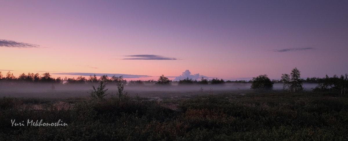 Туман на закате - Yuri Mekhonoshin