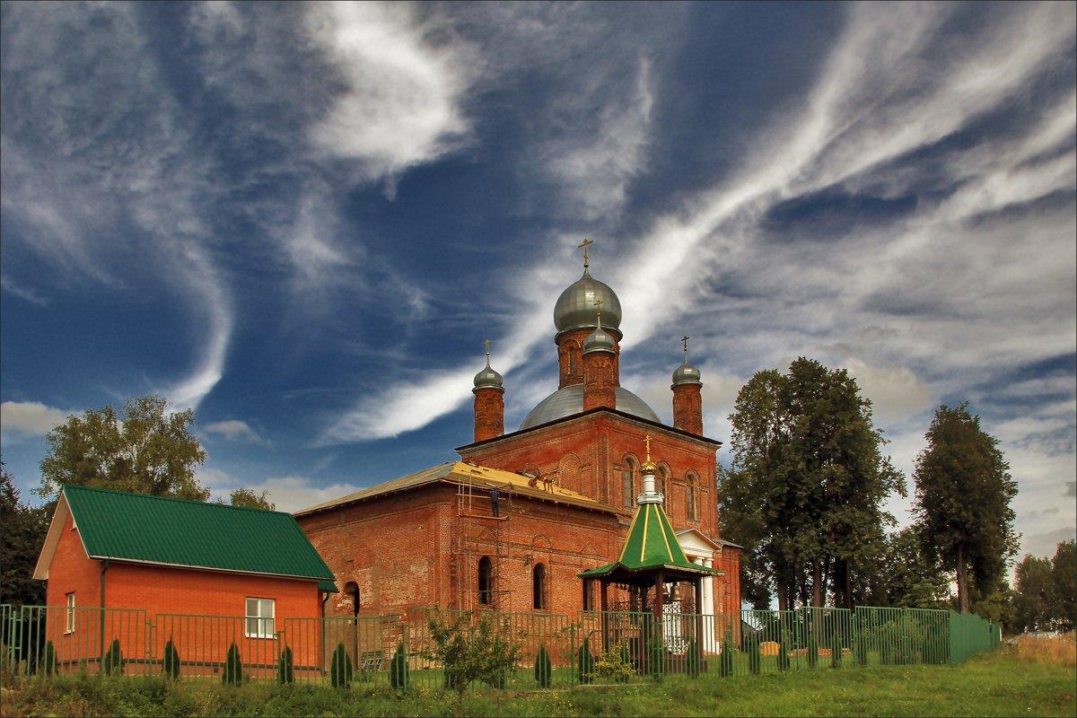 Церковь Михаила Архангела в Шарапово - Дмитрий Анцыферов