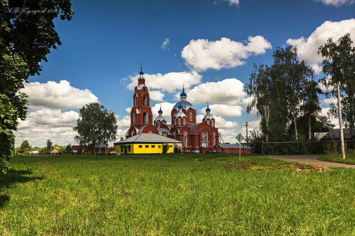 Церковь архангела Михаила в с.Старосеславино на Тамбовщине. - Александр Тулупов