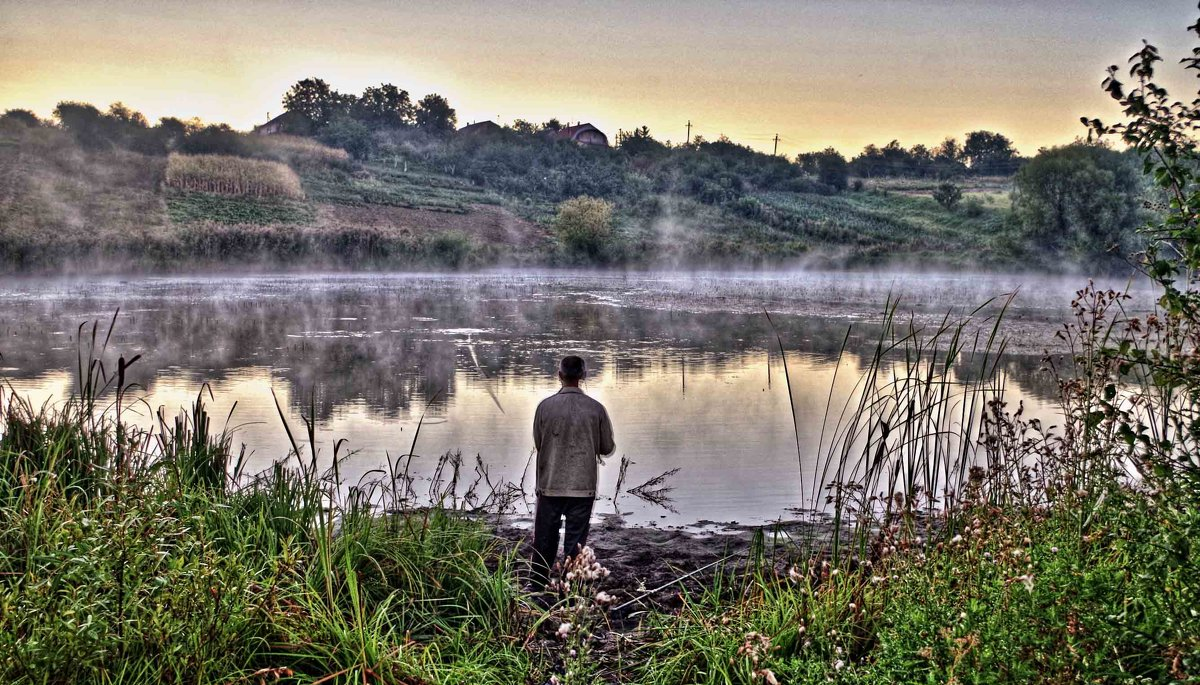 одинокий рыбак - юрий иванов