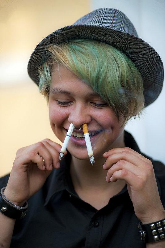 И как там правильно курить то? - Владимир Питерский