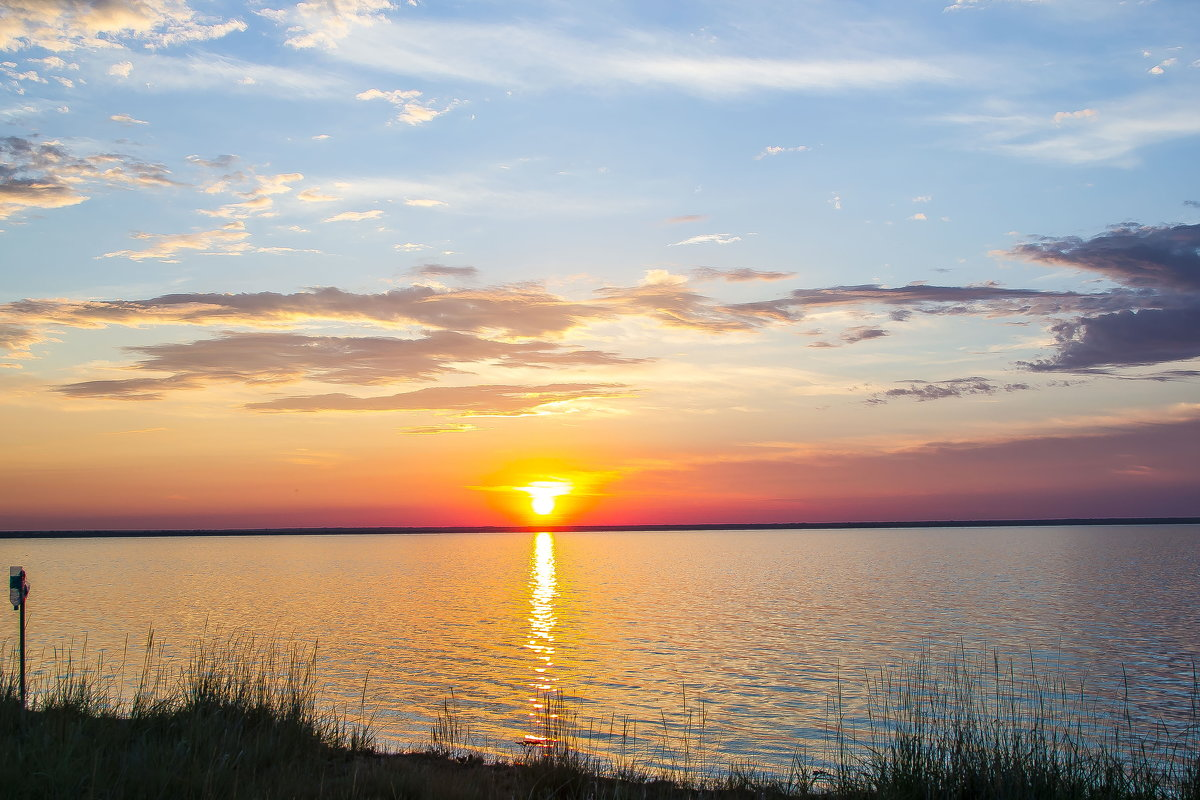 Озеро Яровое.Закат солнца. - Slava
