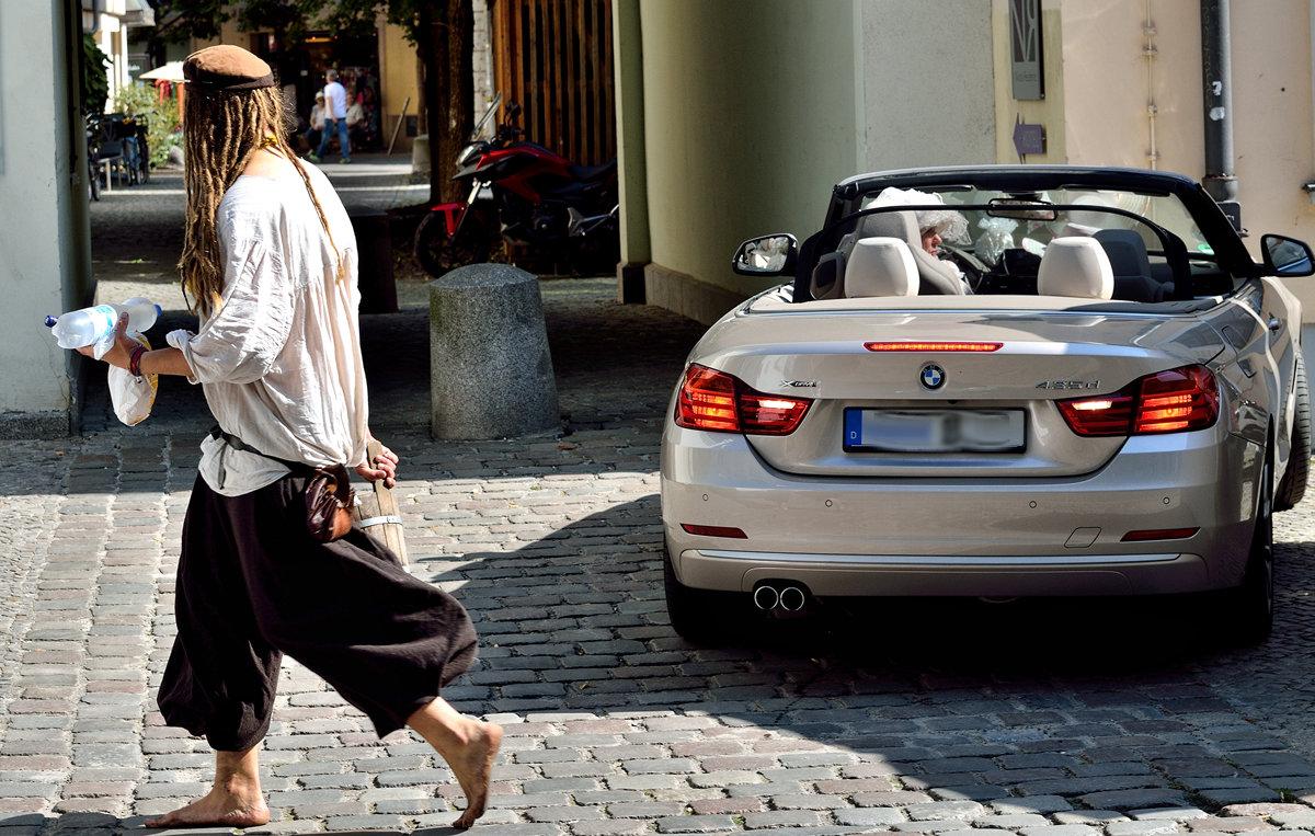Кому BMW, а кому и босиком... - Dan Berli