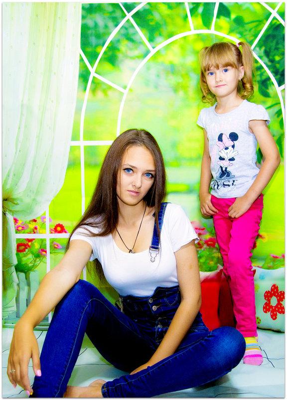 сестренки - Наталья Мерзликина