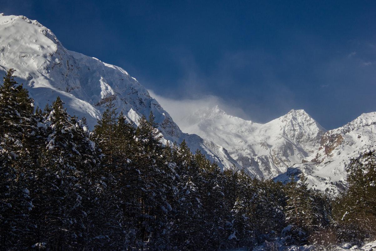 IMG_6659 ветер снег вершины - Олег Петрушин