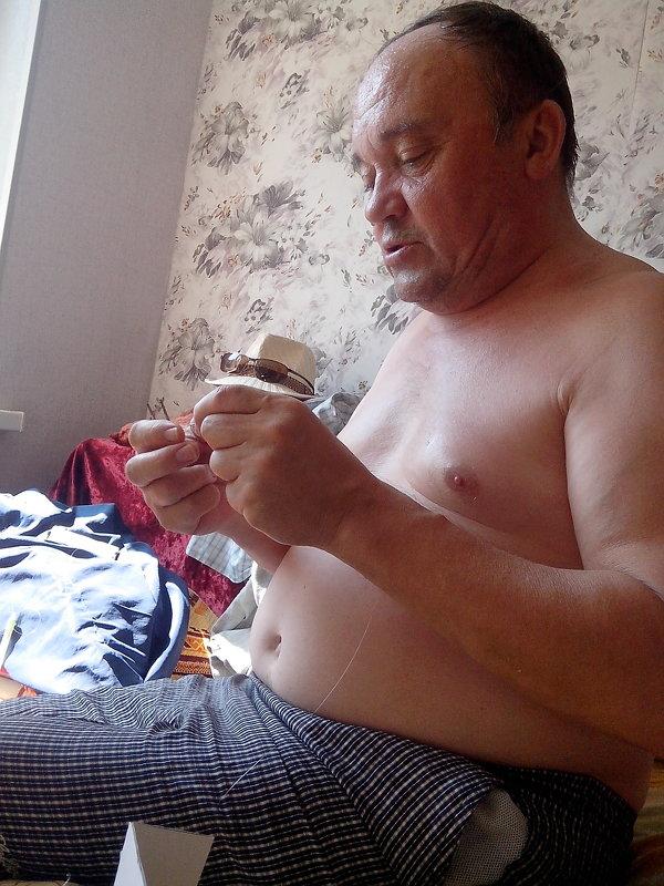 Подготовка к рыбалке - Елена Перминова