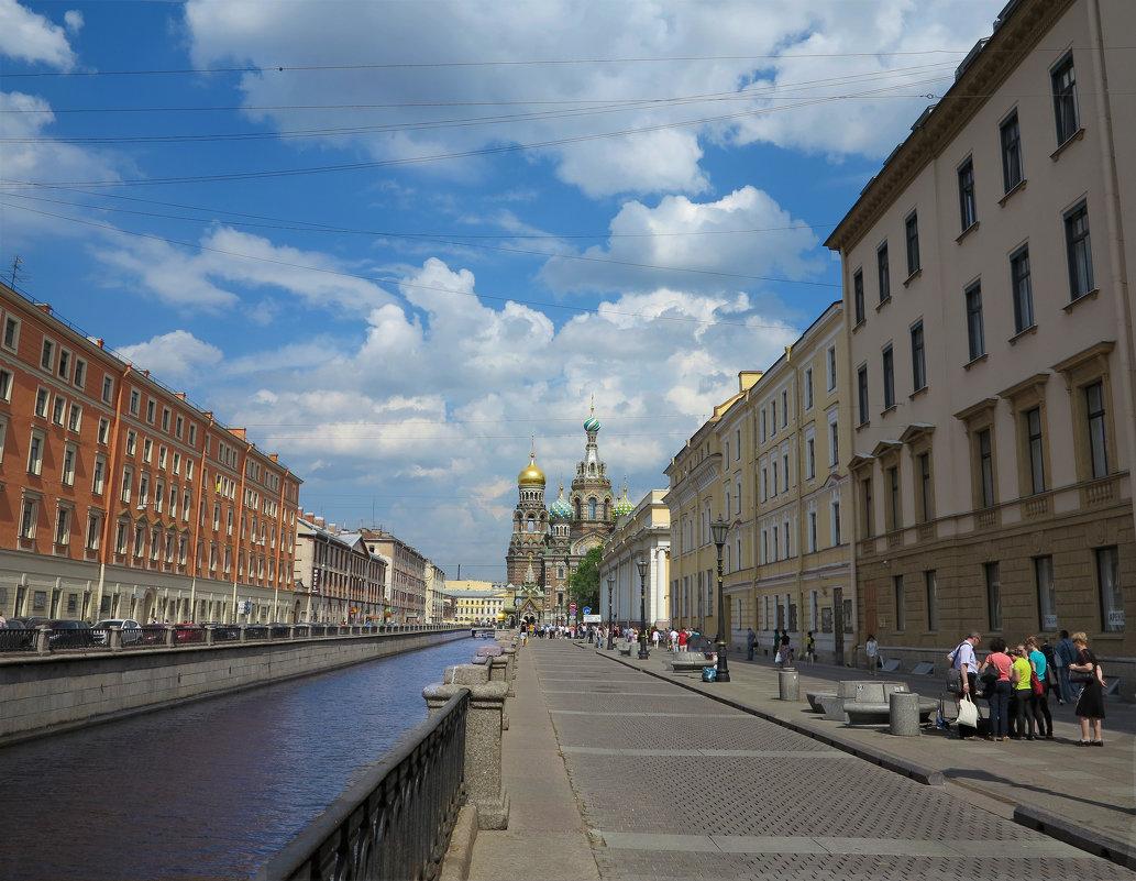 Канал Грибоедова. Из серии - Наталья