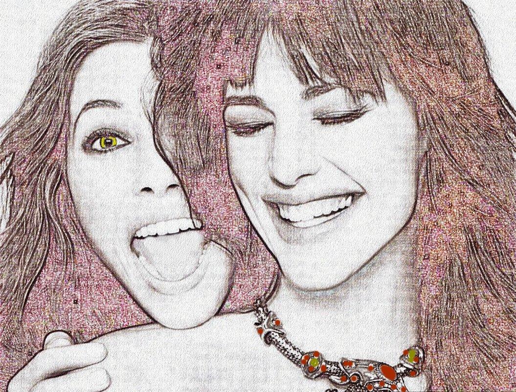 Веселые подружки - Лидия (naum.lidiya)