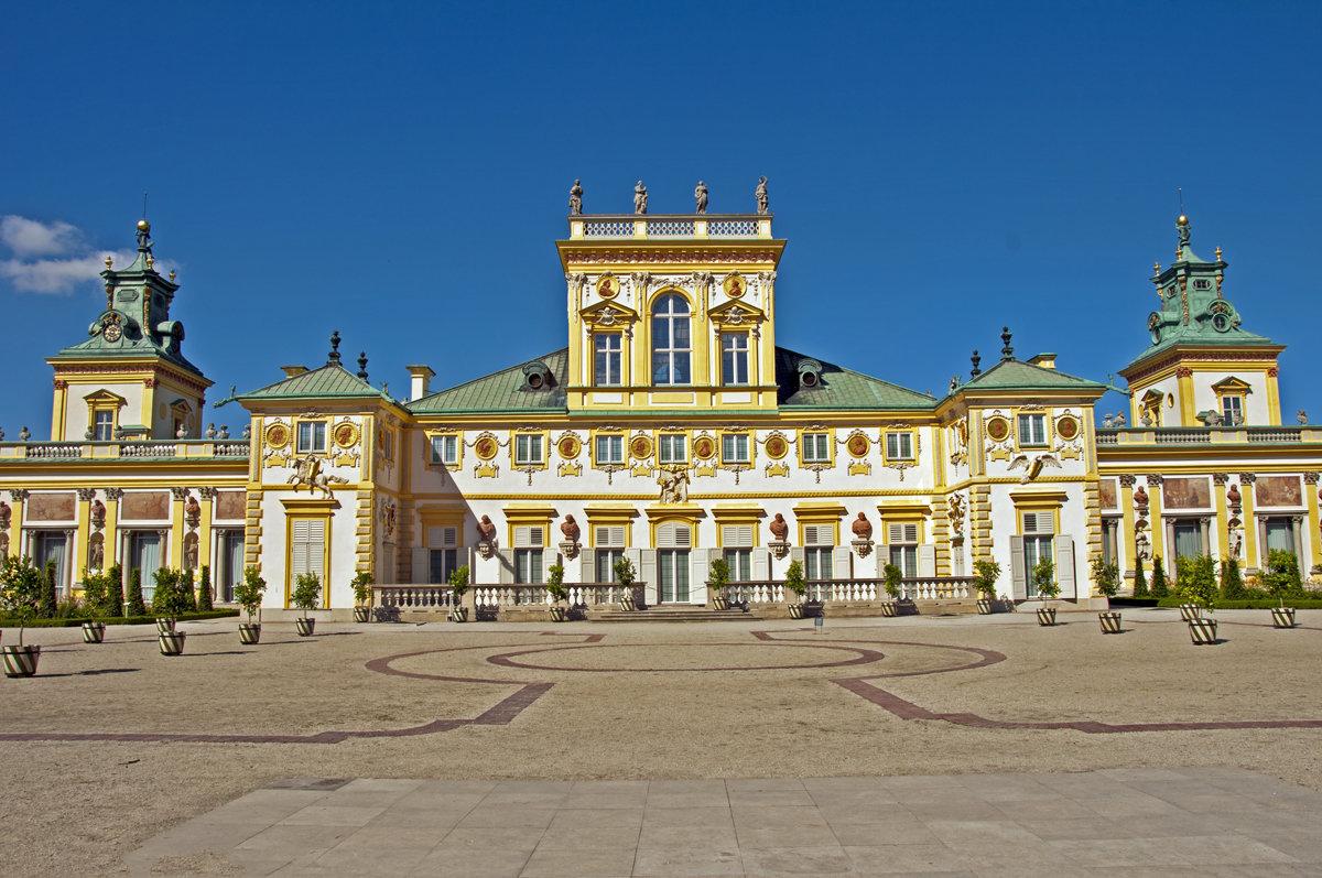 Wilanow Palace in Warsaw - Roman Ilnytskyi