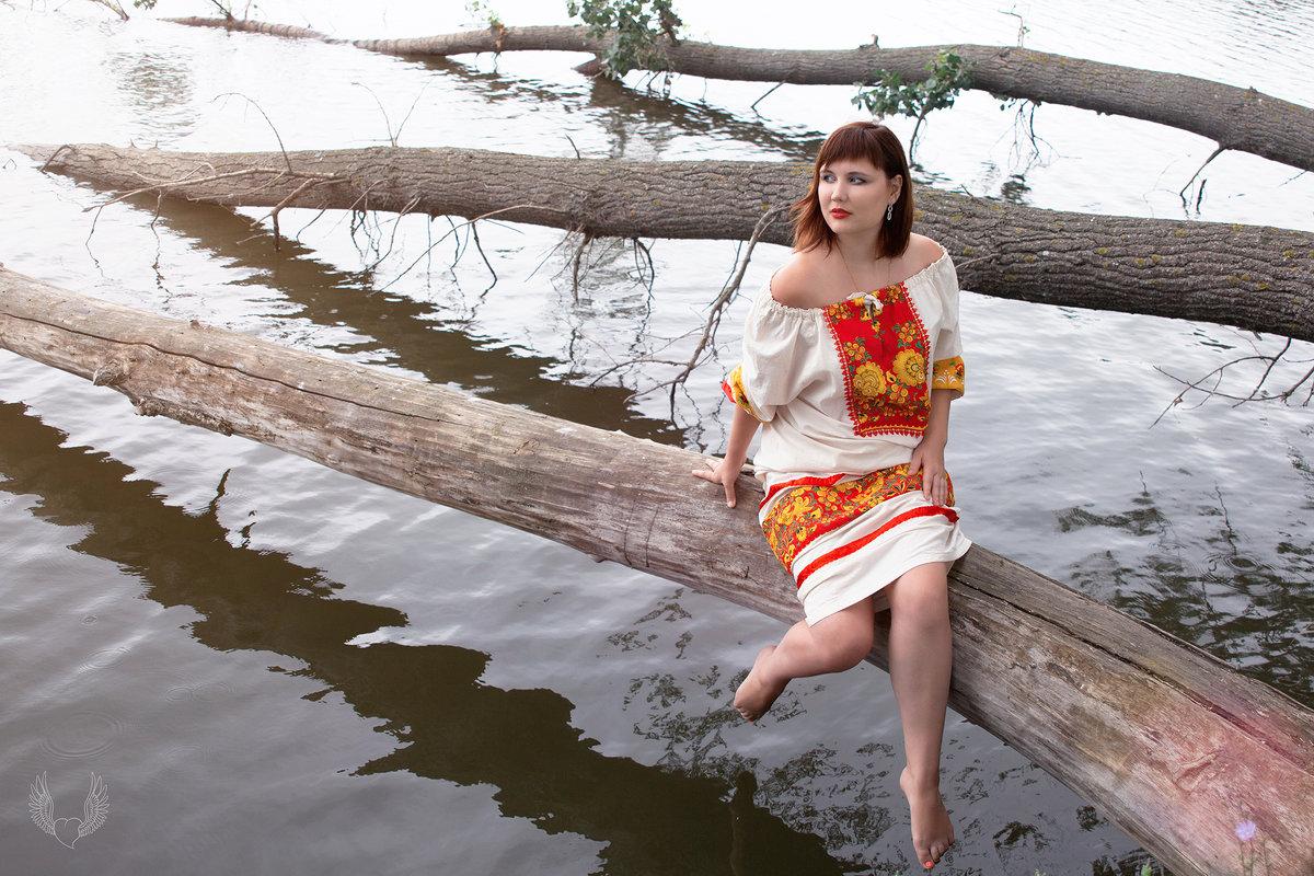 Лето, народное... - Райская птица Бородина