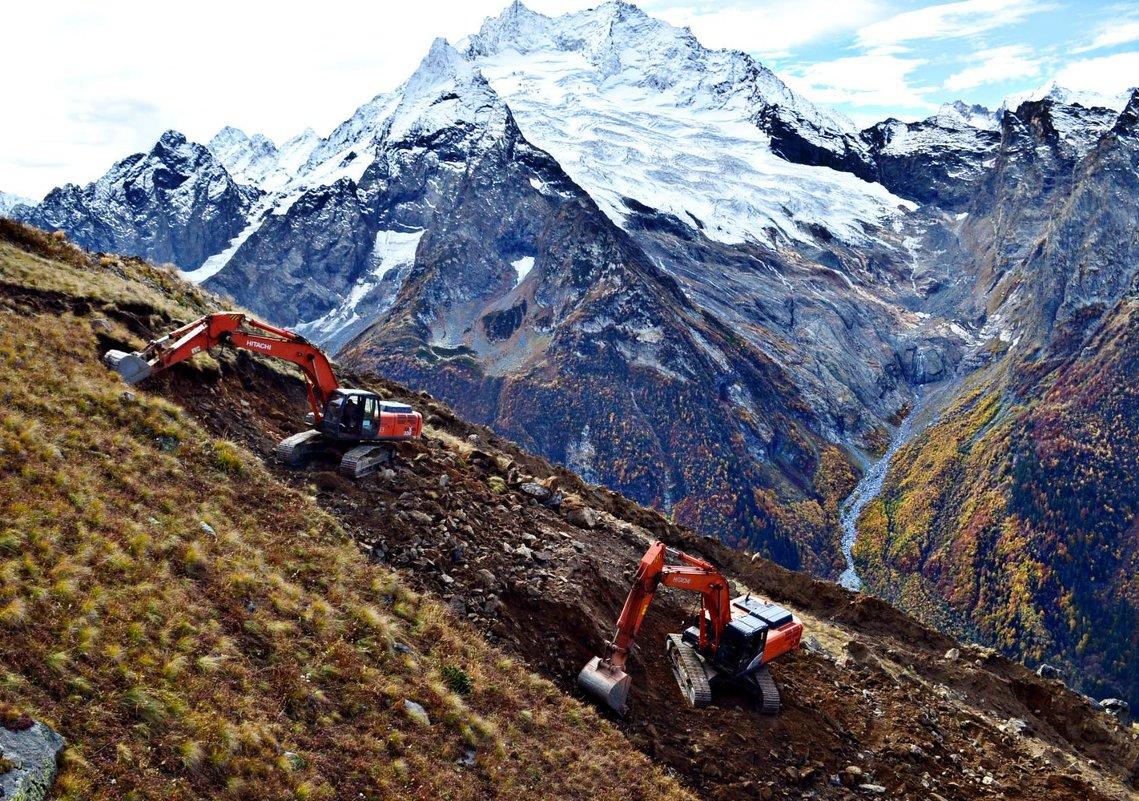 Работа в горах - Клара