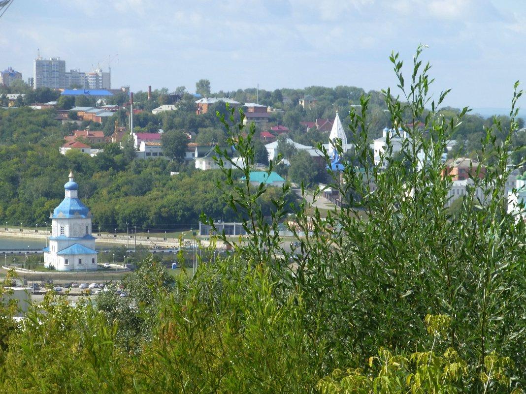 Вид на город - Наиля