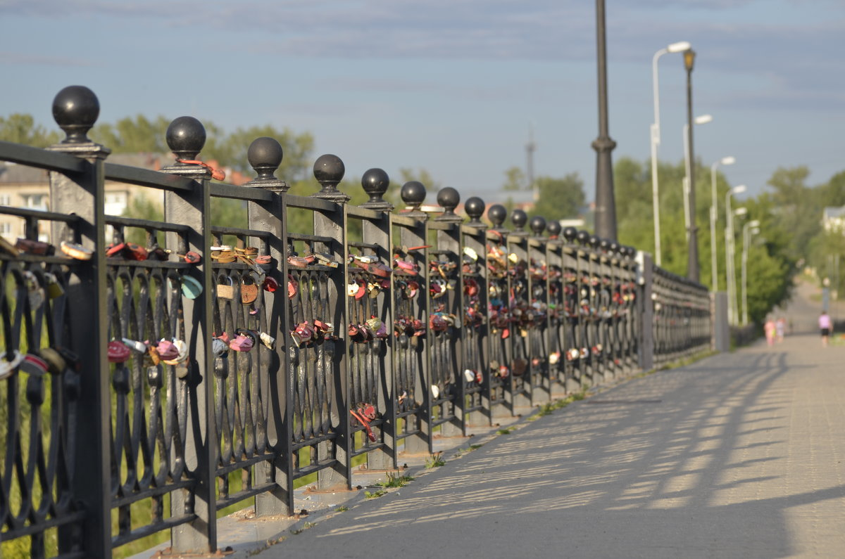 на мосту - Михаил Радин