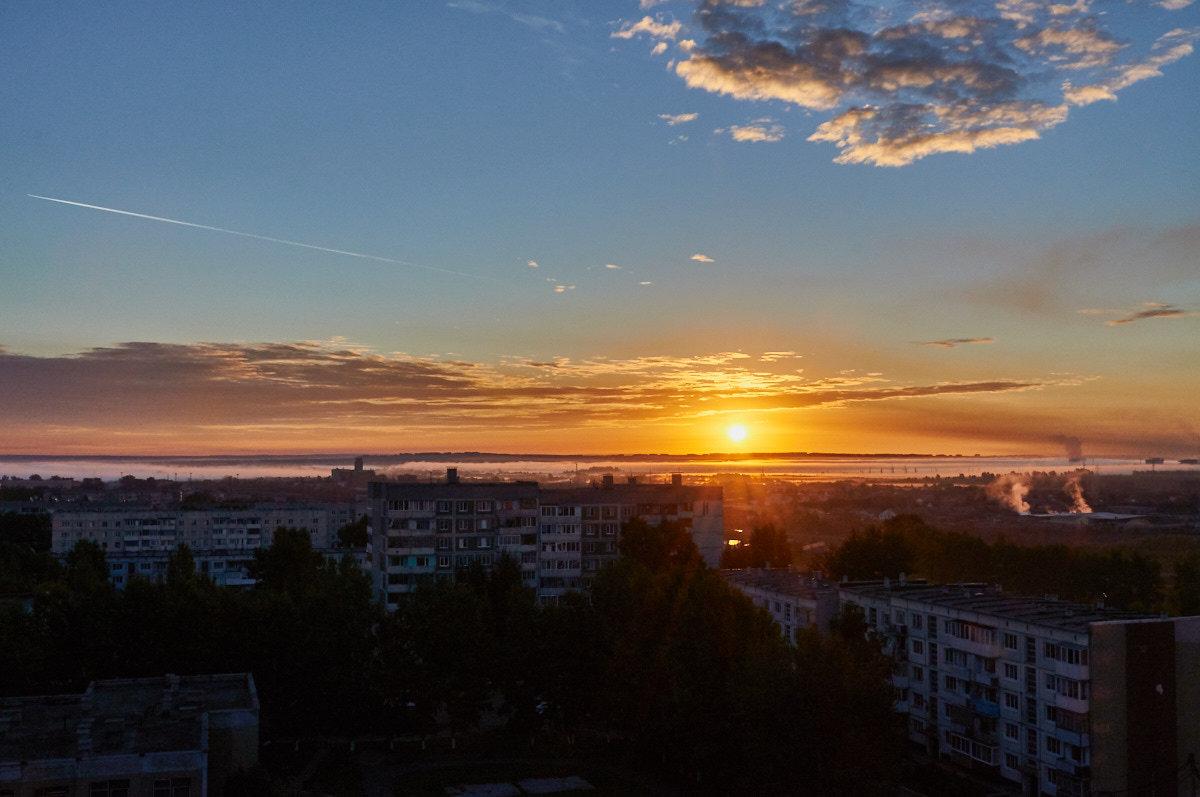 восход,второй день осени - Николай Мальцев