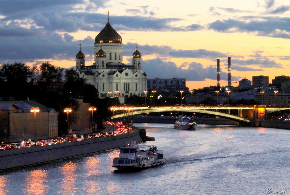 .. Городской пейзаж (этюд №2) - Арина Невская