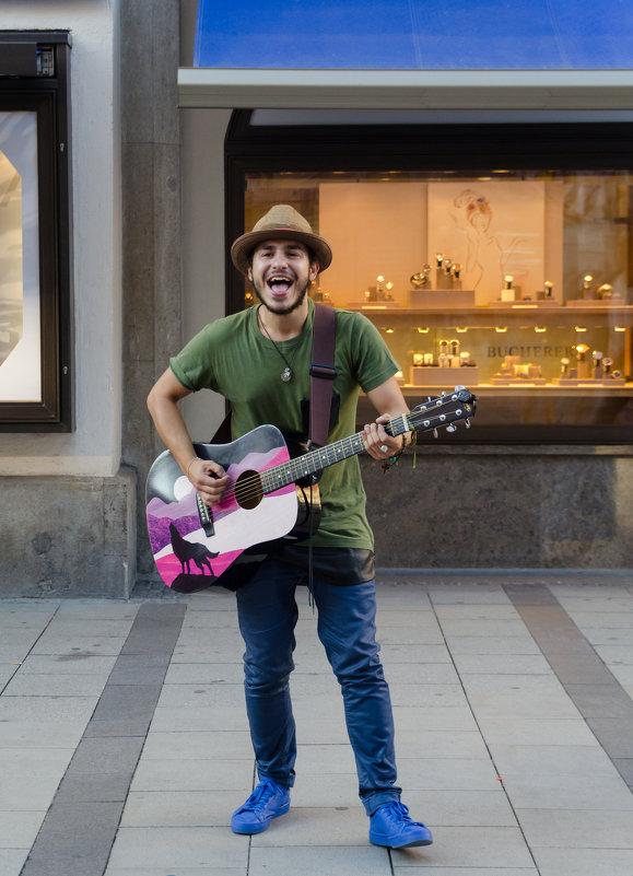 Уличный музыкант - Eugen Pracht