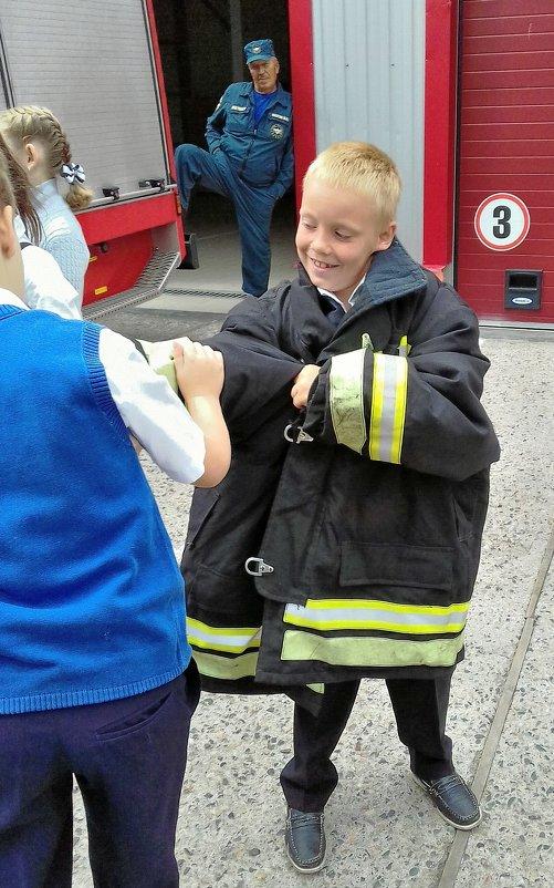 профессия - пожарный... Классный час 1 сентября - Мария Климова