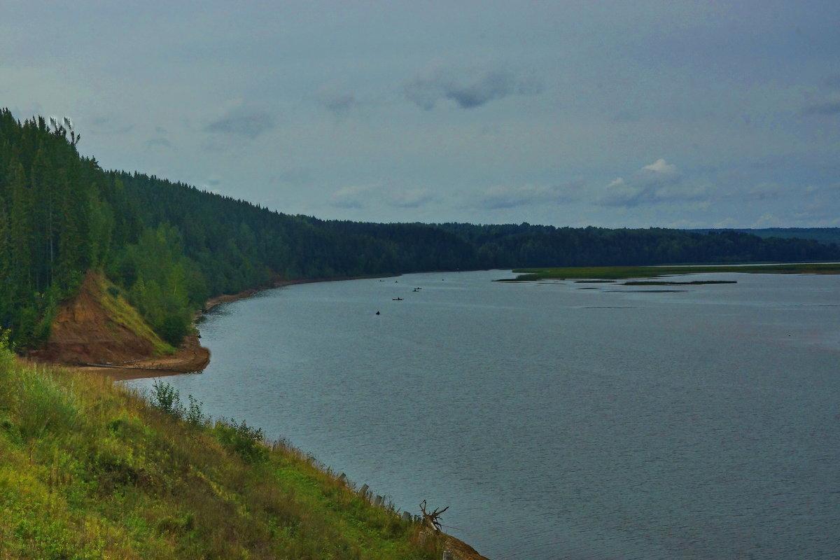 Река Обва у деревни Посёр - Валерий Симонов