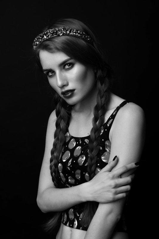 Модель Ева Слободская - Татьяна Молокина