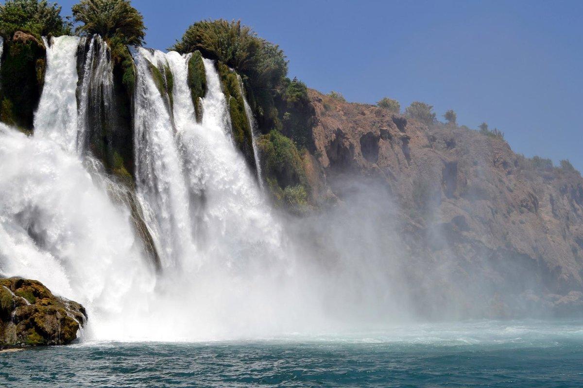 Водопад в Анталии - Клара
