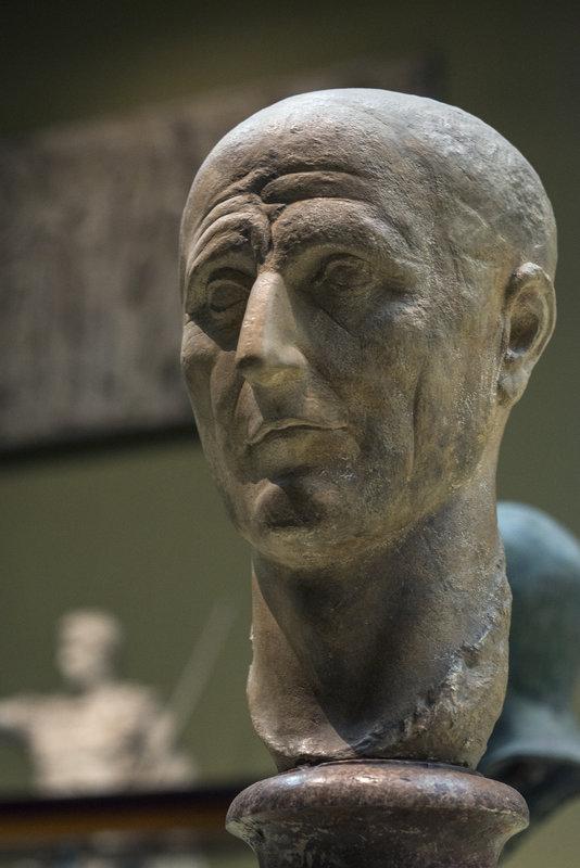 Голова римлянина, вторая половина I века - Анатолий Бастунский