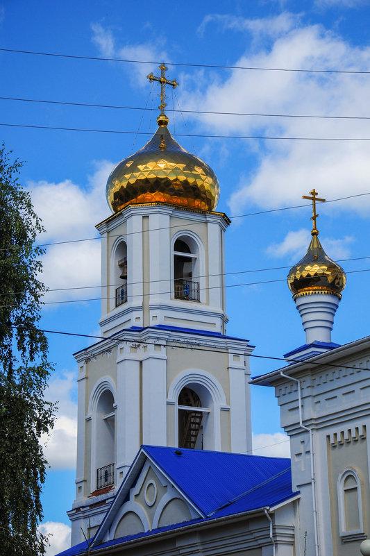 Колокольня церкви. Нижнекамск. - Сергей Тагиров