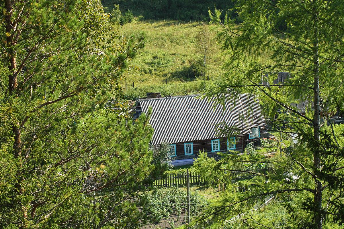 Сибирский домик на окраине поселка - Екатерина Торганская