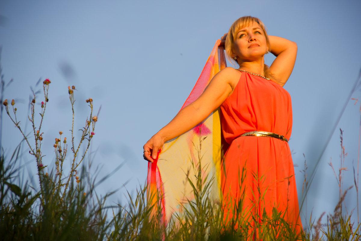 На закате - Наталья