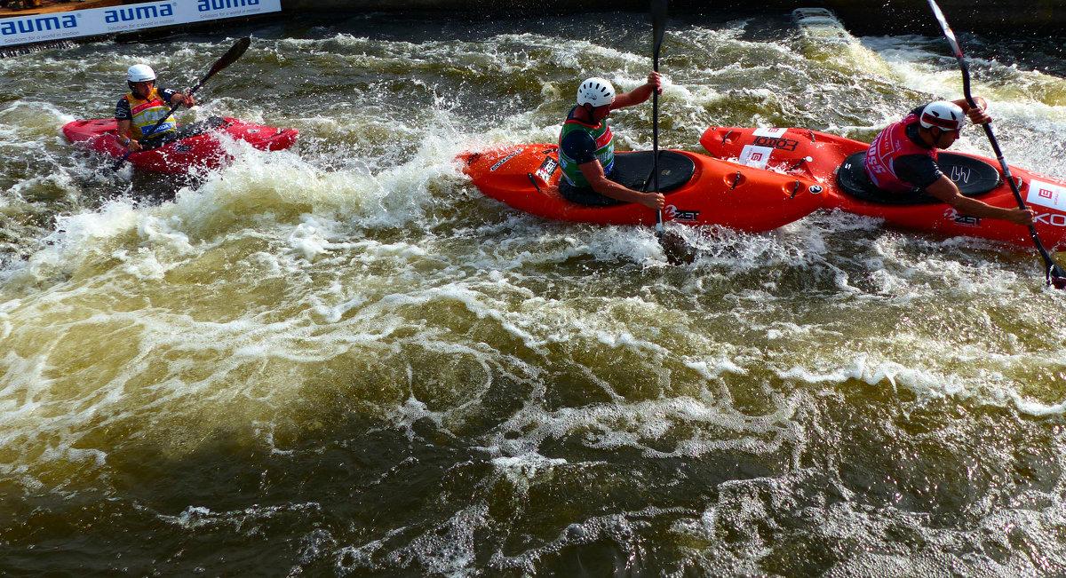 4-ый этап Кубка Мира по гребному слалому 2016 в Праге - Ольга Богачёва