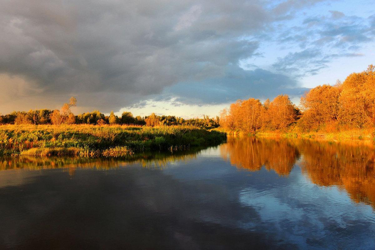 Река играет бликом золотым - Павлова Татьяна Павлова