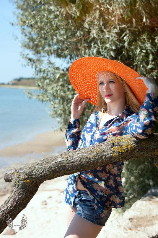 Лучше всего Девушка чувствует себя На море! )) - Райская птица Бородина