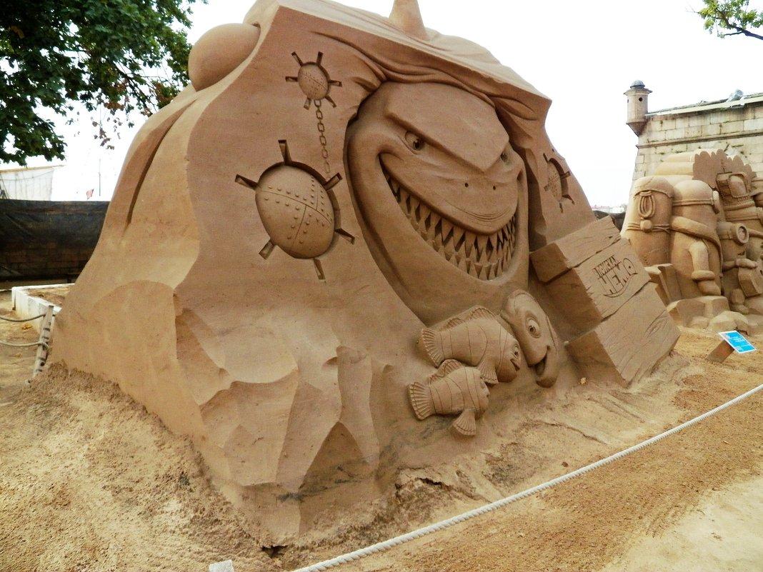 Выставка песчаных скульптур в Перопавловской крепости С-Петербурга - Виктор Елисеев