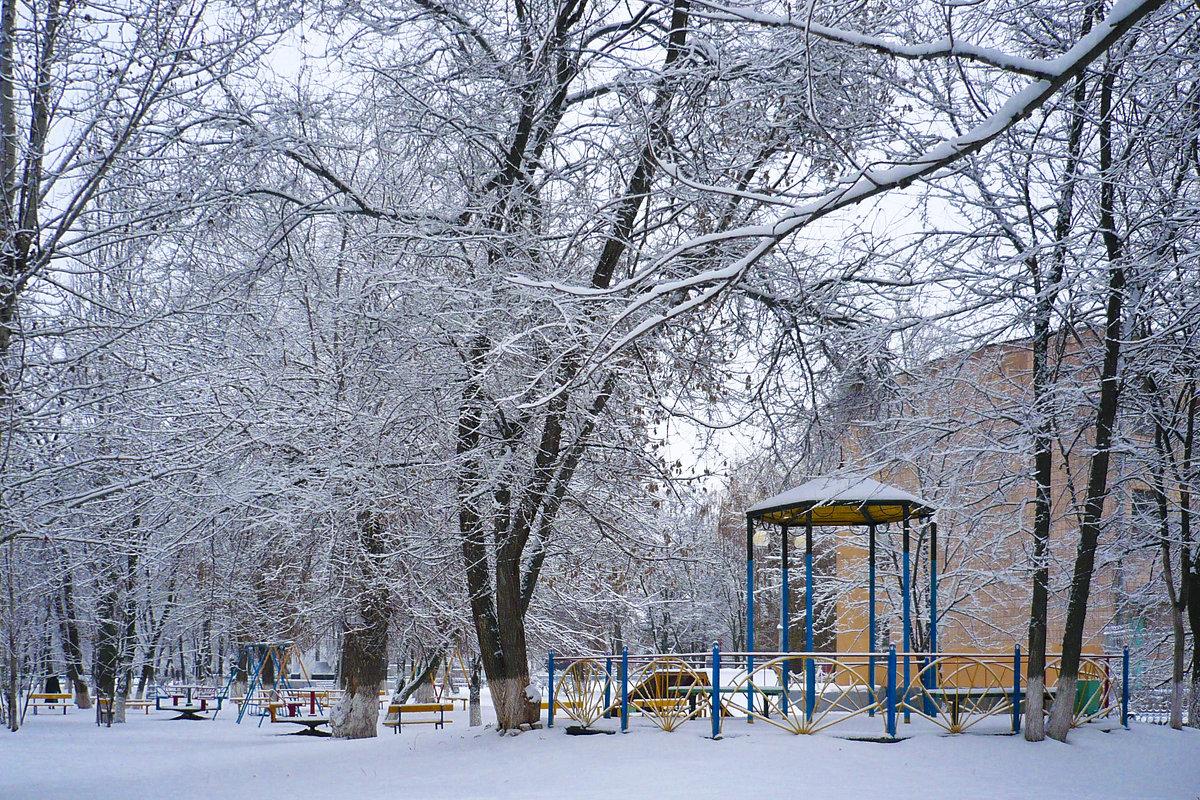 зимой в городе - татьяна