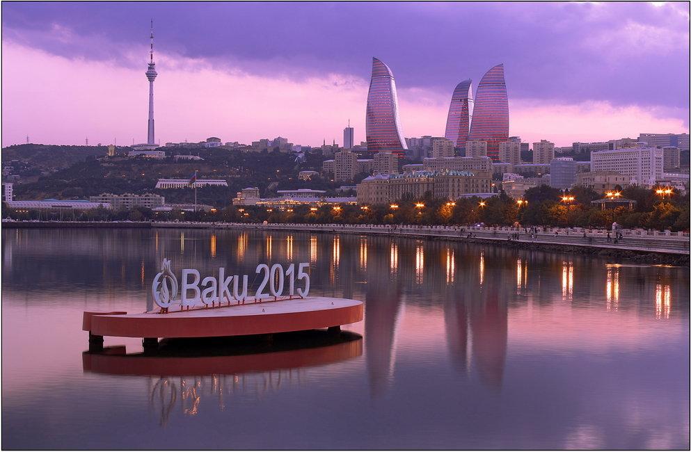 Баку 2015 - Дмитрий Игнатов