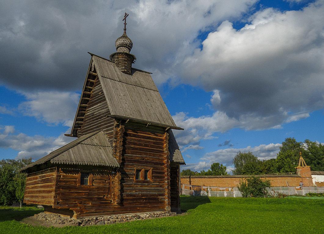 Георгиевская церковь,1718г. - Сергей Цветков