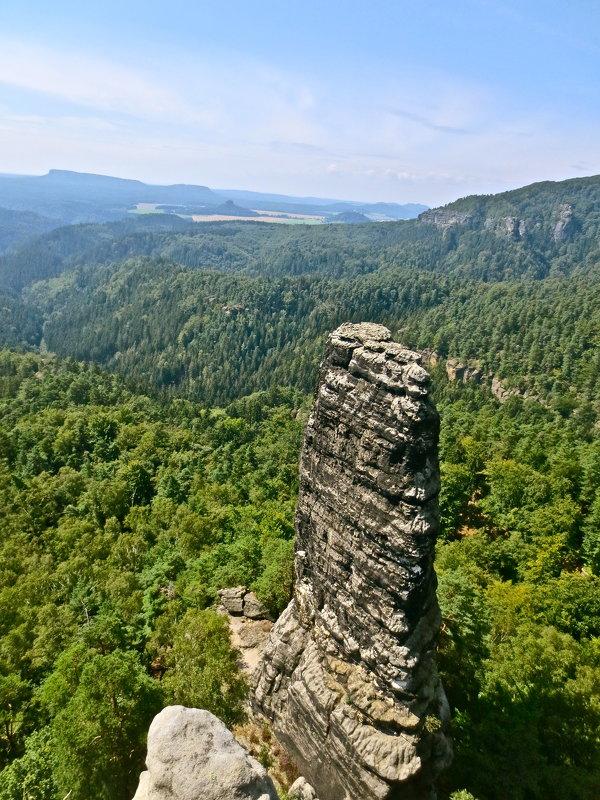 скалы Чешской Швейцарии - Елена