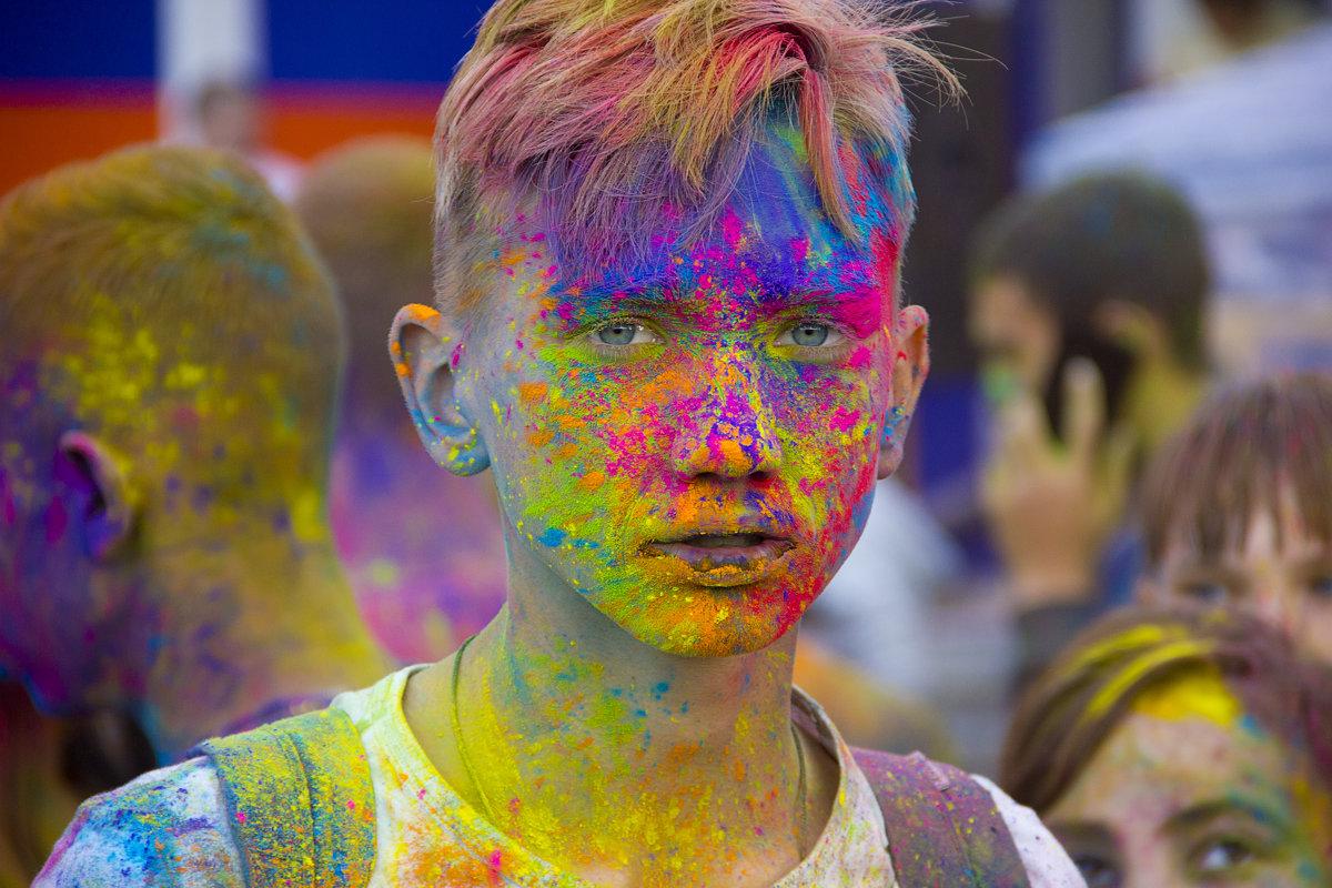 Фестиваль красок - Сергей
