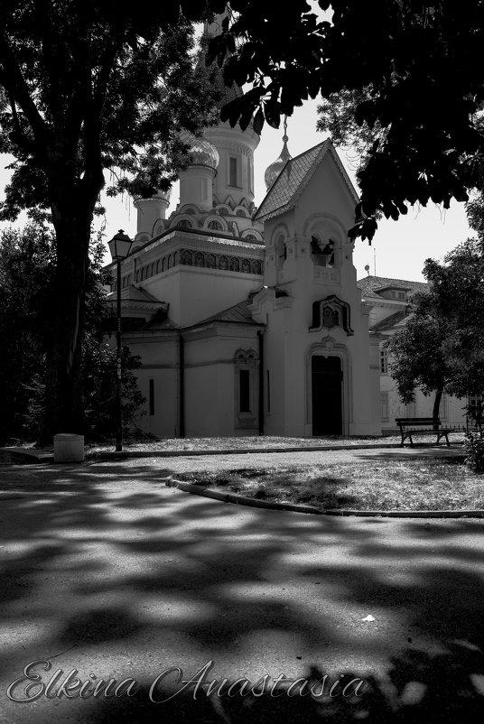 Вид на церковь - Анастасия Елкина