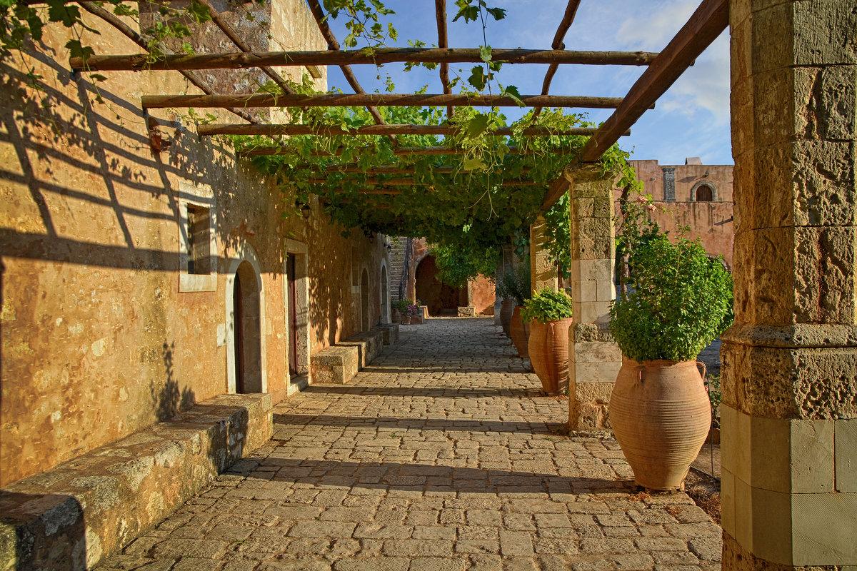 Монастырь Аркади,Крит - Priv Arter