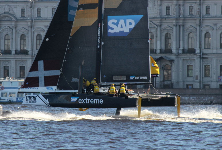Регата Extreme sailing seriesРегата Extreme sailing series - Вера Моисеева