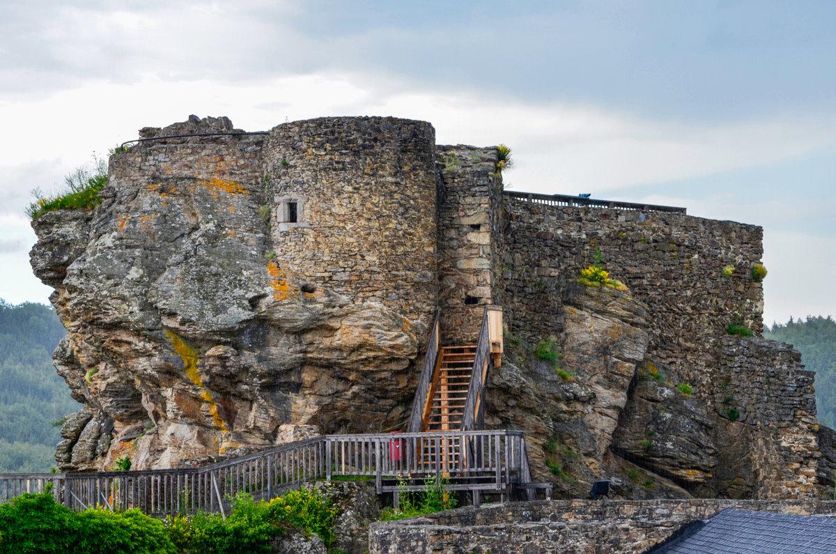 Развалины замка Аггштайн. Австрия - Сергей и Ирина Хомич