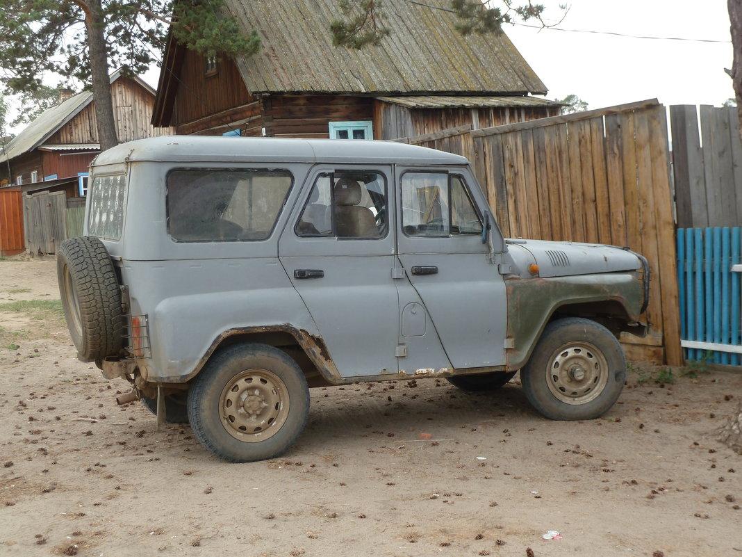 Самый подходящий вид транспорта для дорог Ольхона - Галина